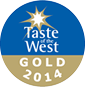 Taste the West 2014 Gold Award